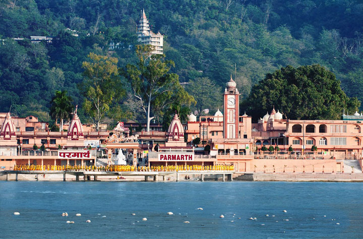 rishikesh in ramjhula parmarth